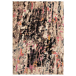 Liora Manné Fresco Abstract 3'3 x 4'11 Indoor/Outdoor Multicolor Accent Rug