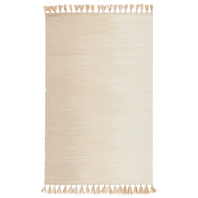 Alternate image 1 for Jaipur Living Flats Labyrinth 9' x 12' Area Rug in Ivory