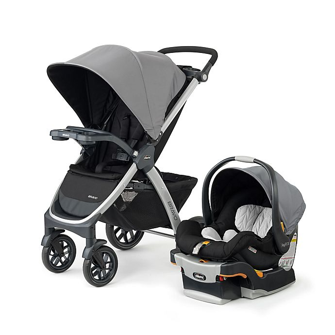 Alternate image 1 for Chicco® Bravo® Trio Single Travel System