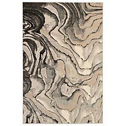 Liora Manne Soho Agate 8'10 x 11'9 Area Rug in Black