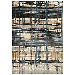 Liora Manne Soho Contempo 3'3 x 4'11 Accent Rug in Navy