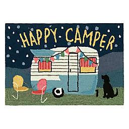Liora Manné Frontporch Happy Camper Indoor/Outdoor Floor Mat