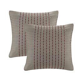 N Natori® Cherry Blossom European Pillow Sham in Grey