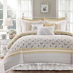 Madison Park Dawn 9-Piece California King Comforter Set in Yellow