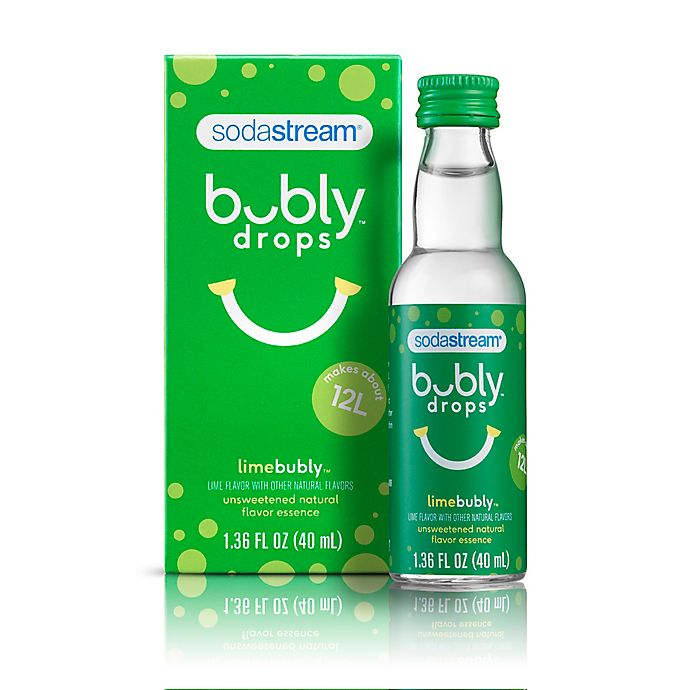 Alternate image 1 for SodaStream® Bubly Lime Drops