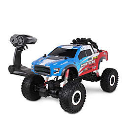 NKOK Mean Machines 4x4 Offroad Ford F-150 Raptor Rock Crawler with Action Camera Mount