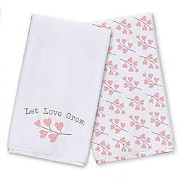 Let Love Grow Tea Towel Set