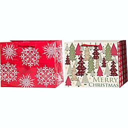 Winter Wonderland Heavyweight Jumbo Horizontal Gift Bag