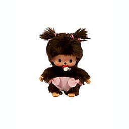 Monchhichi® Bebichhichi Classic Toddler Girl Plush Doll in Brown