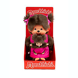 Monchhichi® Mother Care Mother/Daughter Girl Doll in Pink
