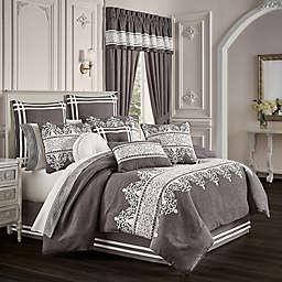 J. Queen New York™ Flint 4-Piece Comforter Set in Charcoal