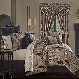 J. Queen New York™ Lauretta 4-Piece Comforter Set in Black