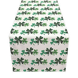 Designs Direct Shamrock Trio Table Runner in Green