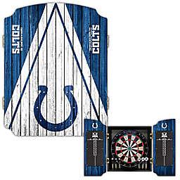 NFL Indianapolis Colts Dartboard Cabinet Set