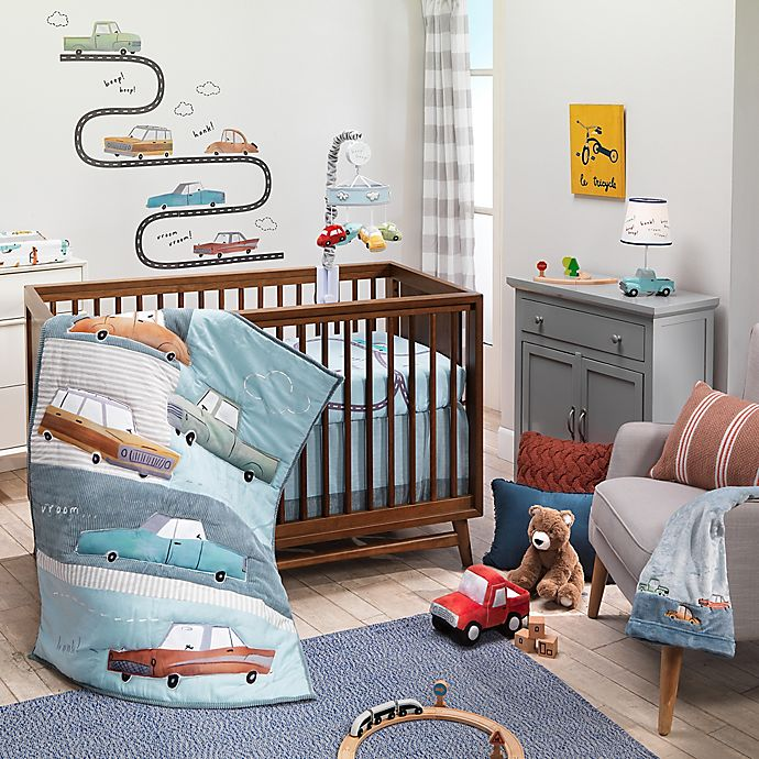 Alternate image 1 for Lambs & Ivy® Car Tunes Nursery Bedding Collection