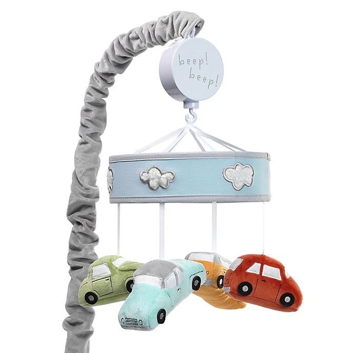 Alternate image 1 for Lambs & Ivy® Car Tunes Musical Mobile in Grey