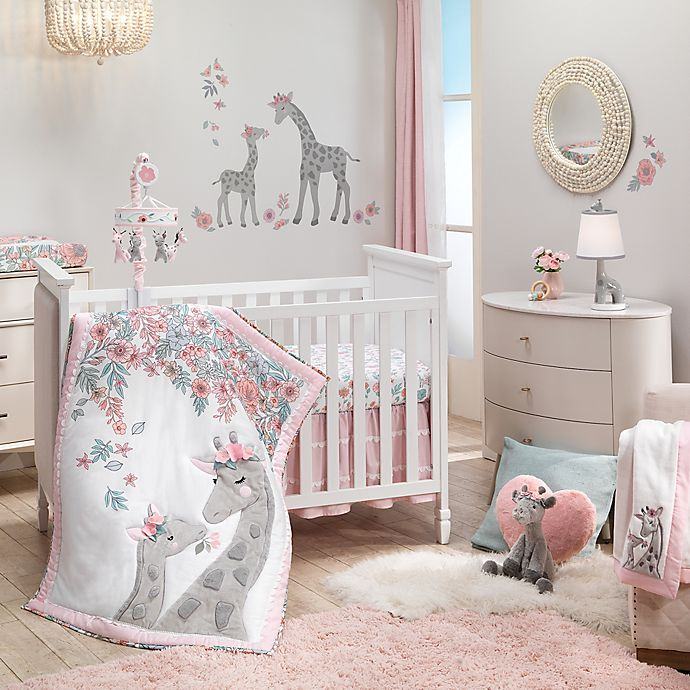 Alternate image 1 for Lambs & Ivy® Giraffe and A Half Nursery Bedding Collection