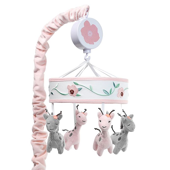 Alternate image 1 for Lambs & Ivy® Giraffe and A Half Musical Mobile