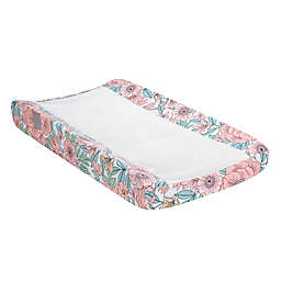 Lambs & Ivy® Giraffe and A Half Changing Pad Cover in White