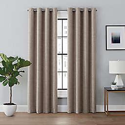 Brookstone™ Renwick 63-Inch Grommet 100% Blackout Lined Curtain Panel in Mocha (Single)