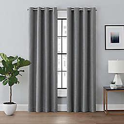 Brookstone™ Renwick Grommet 100% Blackout Lined Window Curtain Panel (Single)