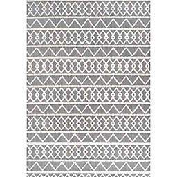 JONATHAN Y Aylan High-Low Pile Knotted Trellis Geometric Area Rug