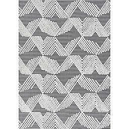 JONATHAN Y Jazz Art Deco Geometric Indoor/Outdoor Area Rug