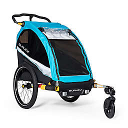Burley D'Lite X™ Single Bike Trailer and Jogging Stroller in Aqua