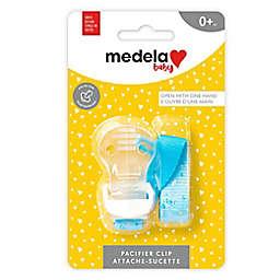 Medela® Baby Signature Pacifier Holder in Blue