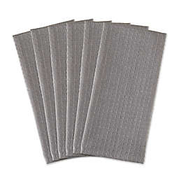 DII Solid Waffle Recycled Cotton Kitchen Towels (Set of 6)