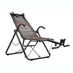 FitNation Core Lounge Ultra Workout Chair in Black