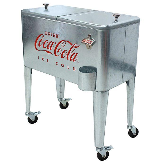 Bath cooler water coke Vintage Coca