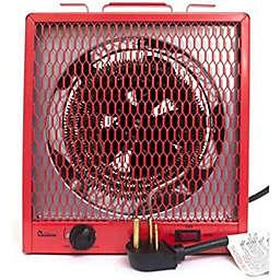 Dr. Infrared Heater™ 4800/5600 watt Garage Heater Heater with 6-30R Plug in Red