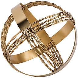 Home Essentials & Beyond™ 9-Inch Decorative Sphere in Gold
