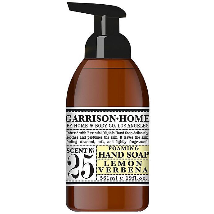 Alternate image 1 for Garrison Home 19 oz. Foaming Hand Soap in Lemon Verbena