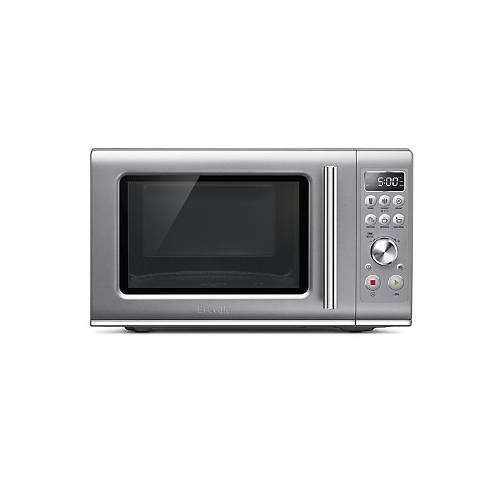 Alternate image 1 for Breville® 0.9 cu. ft. the Compact Wave™ Soft Close Microwave Oven