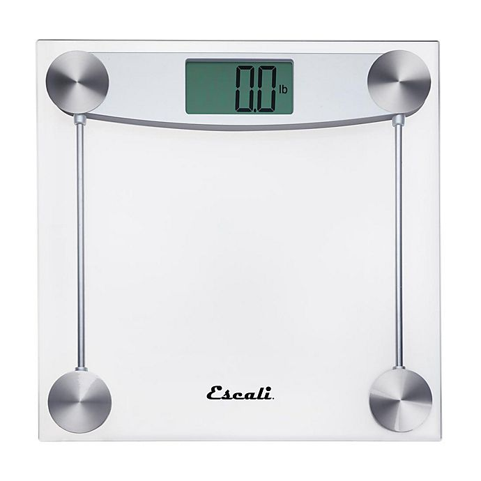 Alternate image 1 for Escali Glass Digital Bathroom Scale