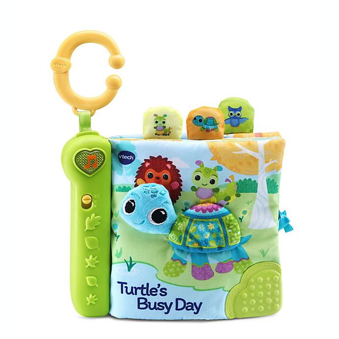 Alternate image 1 for VTech® Turtle's Busy Day Soft Book™