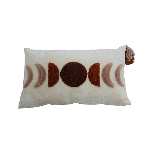 Alternate image 1 for Wild Sage™ Ayla Oblong Throw Pillow in Ivory