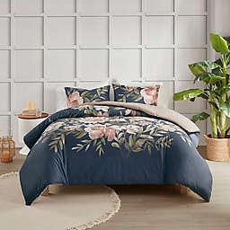 Madison Park® Camillia Cotton 3-Piece Duvet Cover Set