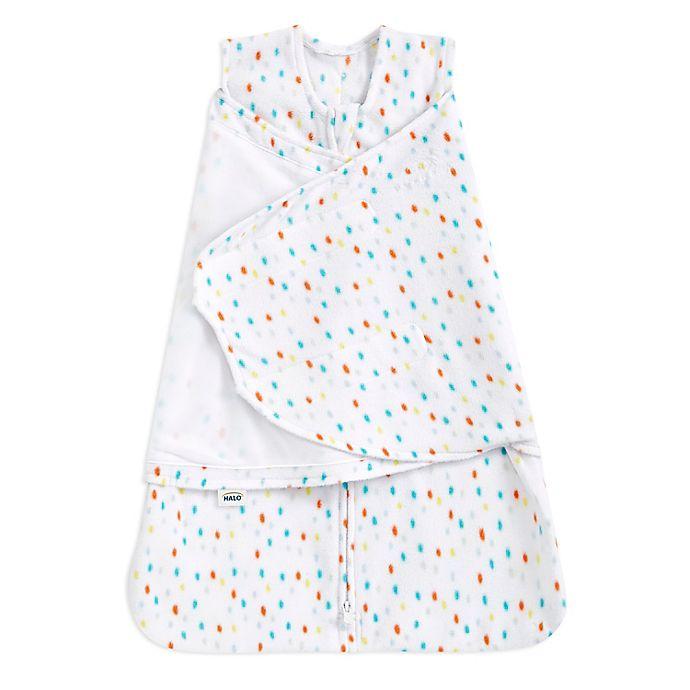 Alternate image 1 for HALO® Newborn 2-in-1 SleepSack® Microfleece Swaddle in Confetti