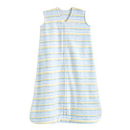 HALO® SleepSack® Large Microfleece Wearable Blanket in Blue Stripe