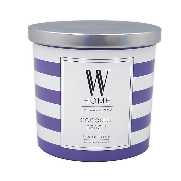 Alternate image 1 for W Home™ Coconut Beach 14 oz. Candle