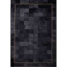 Abacasa Rhys Cordoba Handcrafted Area Rug in Black/Gold