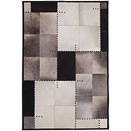 Abacasa Rhys Mendoza Handcrafted Area Rug in Black/Multicolor