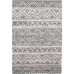Abacasa Granada Sella 7'10 x 10'10 Area Rug in Ivory/Multicolor