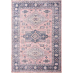 Abacasa Tala Handcrafted Area Rug in Blue/Multicolor