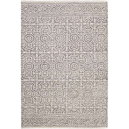 Abacasa Everest Chione Handcrafted Area Rug in Grey/Ivory