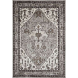 Abacasa Sonoma Jewels Rug in Grey/Multi