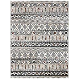 Abacasa Sonoma Elida 5'3 x 7'6 Area Rug in Ivory/Multicolor